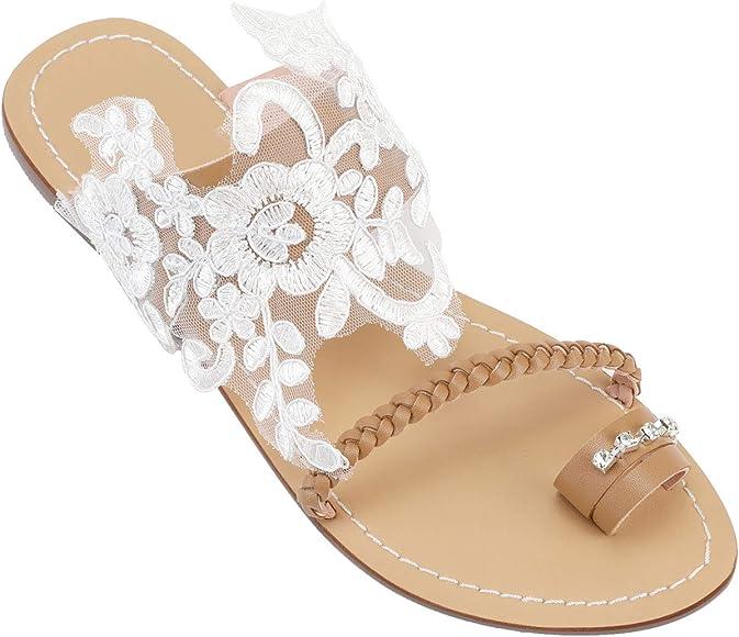 Ladies Flat Slippers, Flip-Flop Sandals