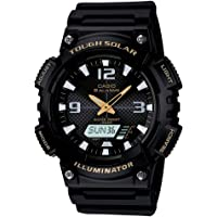 Casio Sport Analog Display Quartz Watch For Men Aq-S810W-1Bv, Black