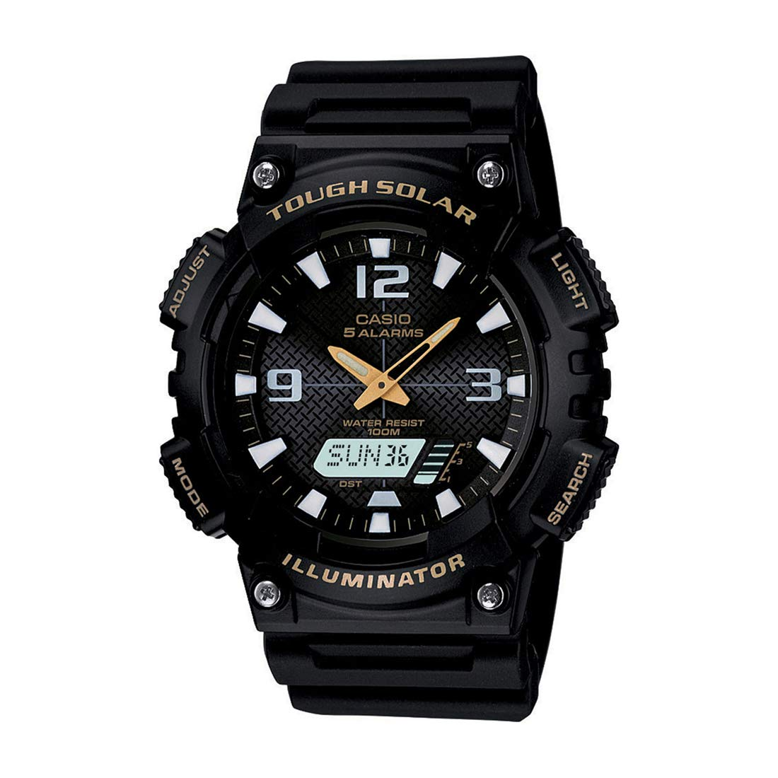 Casio Youth Analog-Digital Black Dial AQ-S810W-1BVDF (AD173) Best Sports Watches For Men to Buy Right Now in India