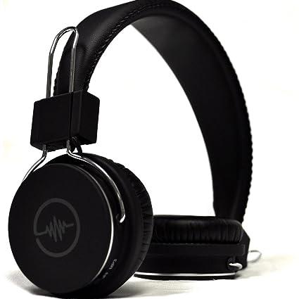 f0491157ae4 Amazon.com: Blue Tiger SoundTrax Wireless Bluetooth Headphones ...