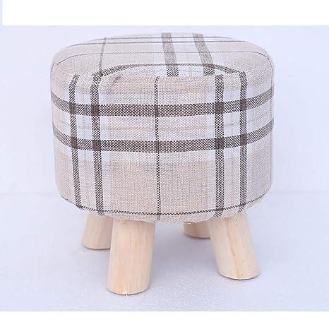 Swell Amazon Com Hmmsp Small Seat Fabric Sofa Stool Home Shoe Cjindustries Chair Design For Home Cjindustriesco