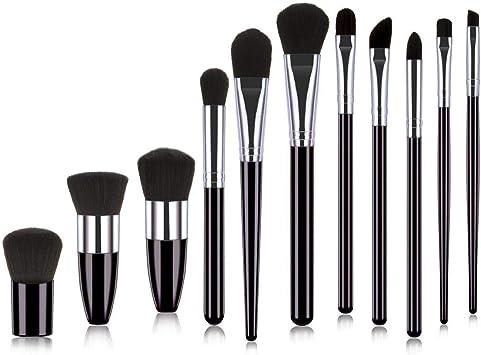 Pairris Pinceles de maquillaje Set de pinceles de maquillaje profesional cosmético Pincel de labios de sombra de ojos Sets de brochas: Amazon.es: Belleza