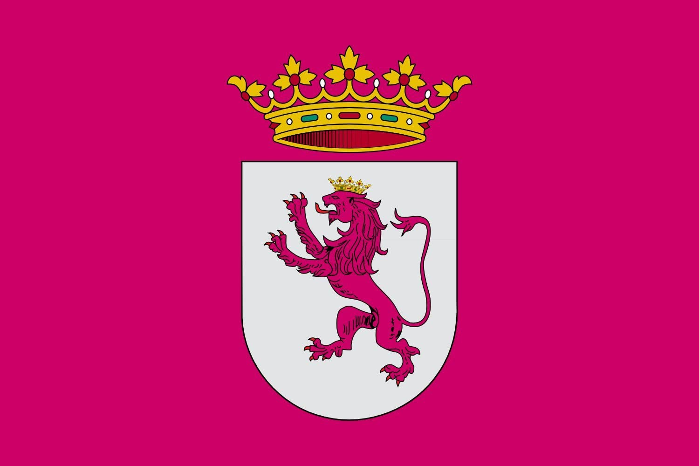 magFlags Bandera Large País Leonés adentro de España | Bandera Paisaje | 1.35m² | 90x150cm: Amazon.es: Jardín