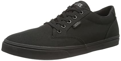 703556bf346e3 Image Unavailable. Image not available for. Color: Vans Black Winston Skate  Shoes ...