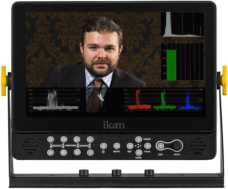 Ikan 9 HDMI//3G-SDI 1920 x 1200 On-Camera Field Monitor with Scopes