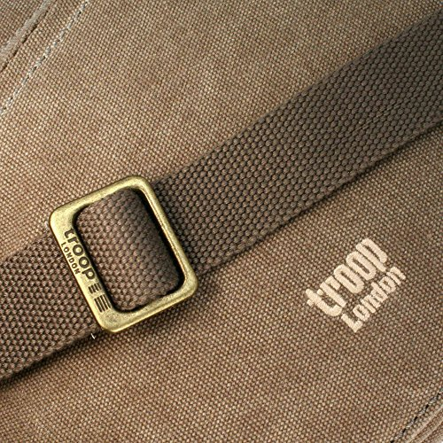 Troop London Classic Segeltuch Tasche TRP0238 - Farbe Braun