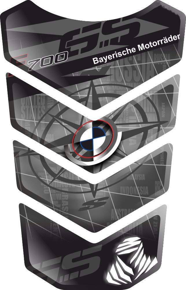 PROTECTION DE RESEVOIR RESINATO EFFETTO 3D compatibile con BM.W F700GS F700 F 700 GS F-700-GS F-700 BMWF700 BMWF700GS v4 TANKPAD PARASERBATOIO ADESIVO TANKSCHUTZ