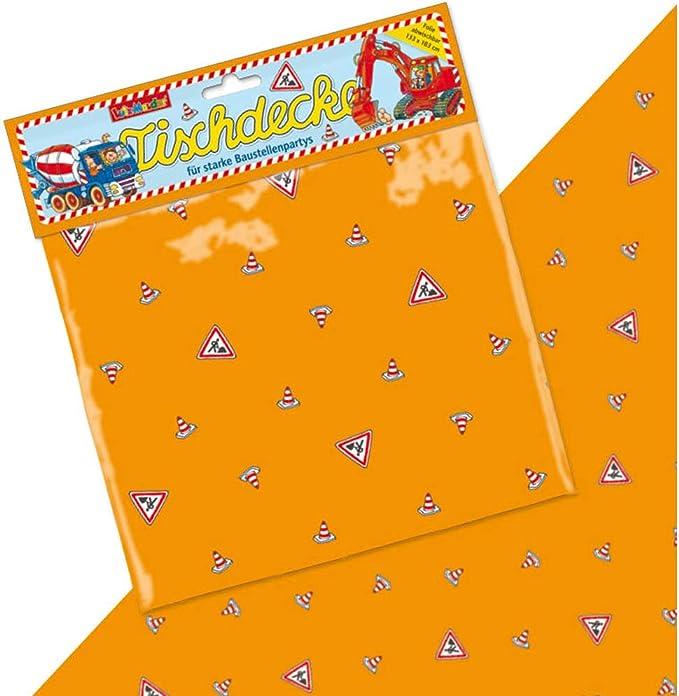 DH-Konzept BAUSERV015 Lot de 20 serviettes de table Multicolore