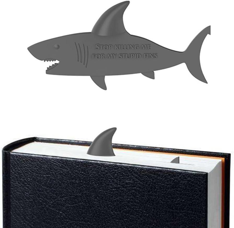 OYLZ Shark Bookmark