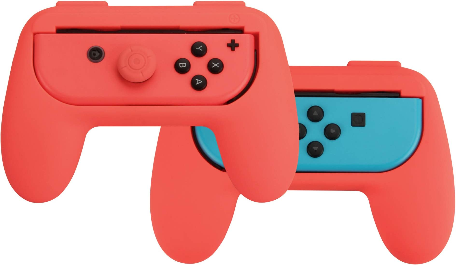 Amazon com: AmazonBasics Grip Kit for Nintendo Switch Joy