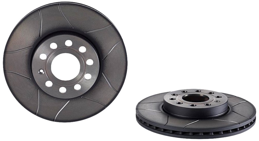 Brembo Max 09.9145.75 Front Brake Disc Set of 2