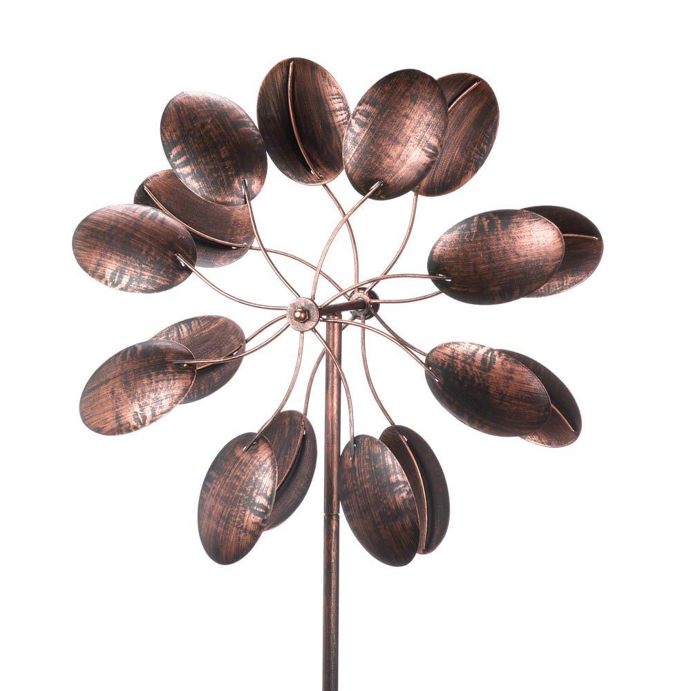 Koehler 15212 84 Inch Rustic Pinwheel Garden Windmill