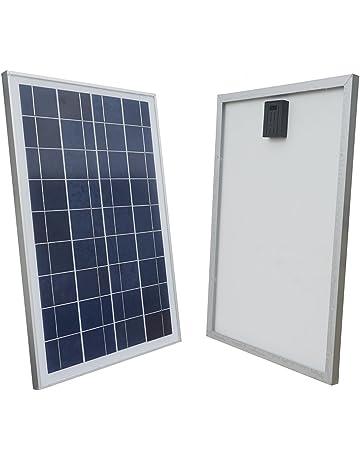 ECO-WORTHY 25W 25 vatios 12 voltios Módulo de panel solar policristalino de batería de