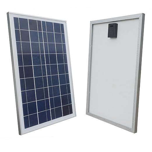 5 opinioni per ECO-WORTHY 25 Watt 12 Volt Pannello solare policristallino