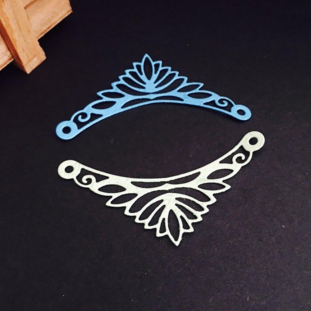 yanQxIzbiu yanQxIzbiu Decorative Corner Edge Metal Cutting Die Scrapbook Paper Card Embossing Stencil