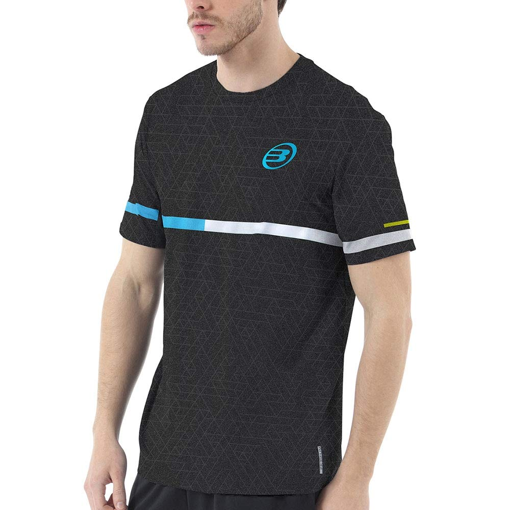 Bull padel Camiseta BULLPADEL INTRIA Negro: Amazon.es: Deportes y ...
