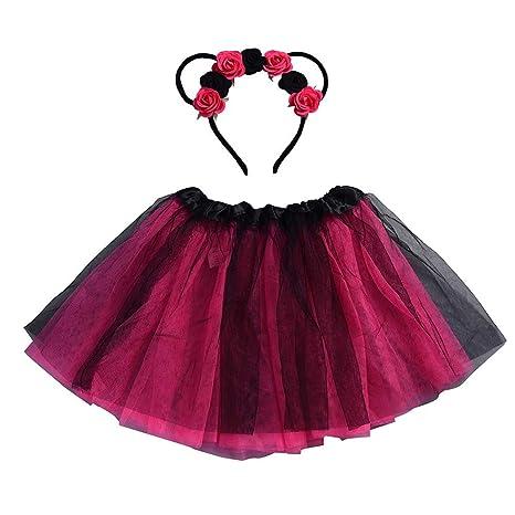 mamum bebé Niños Niñas Princesa Tutu Falda de danza Ballet vestido ...