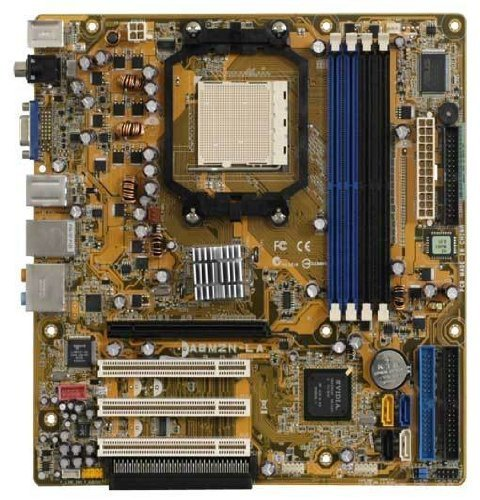 New Asus A8M2N-LA HP Nodus3-GL8E MICRO ATX AMD Skt AM2 (Socket Am2 Matx Motherboard)