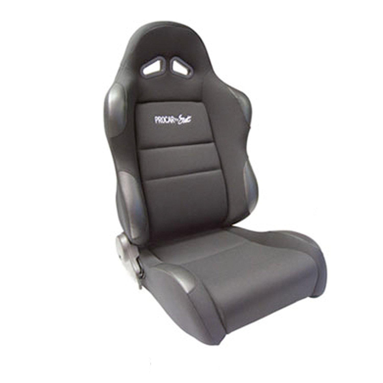 ProCar by Scat 80-1606-61L SPORTSMAN Black Velour Left Racing Seat