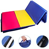 Polar Aurora 4'x8'x2 Multipe Colors Thick Folding Gymnastics Gym Exercise Aerobics Mats Stretching Fitness Yoga 10 Colors