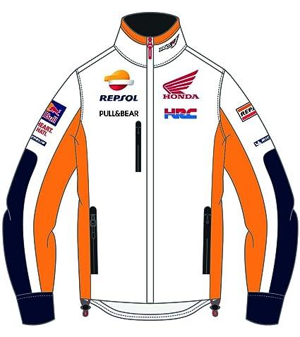 MotoGP Apparel – Chaqueta de invierno Team Repsol, color blanco, ...