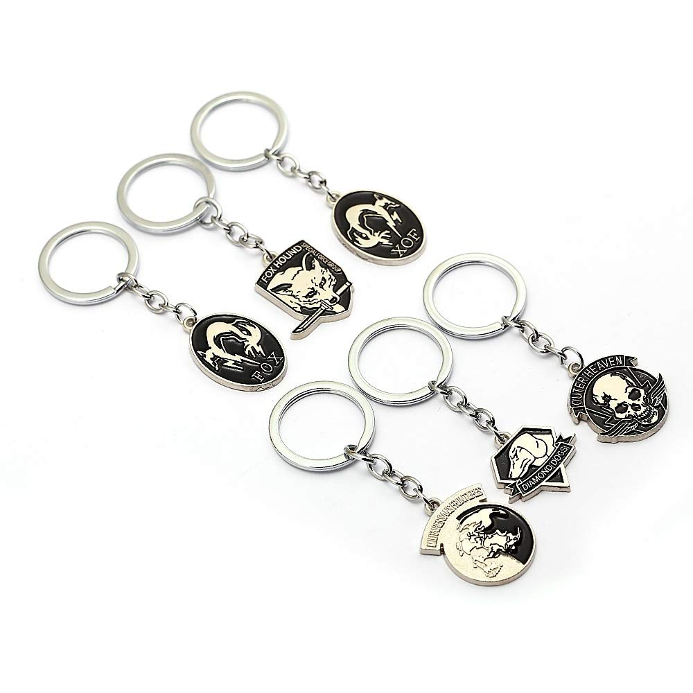 Value-Smart-Toys - Metal gear solid 5 Keychains Fox hound ...