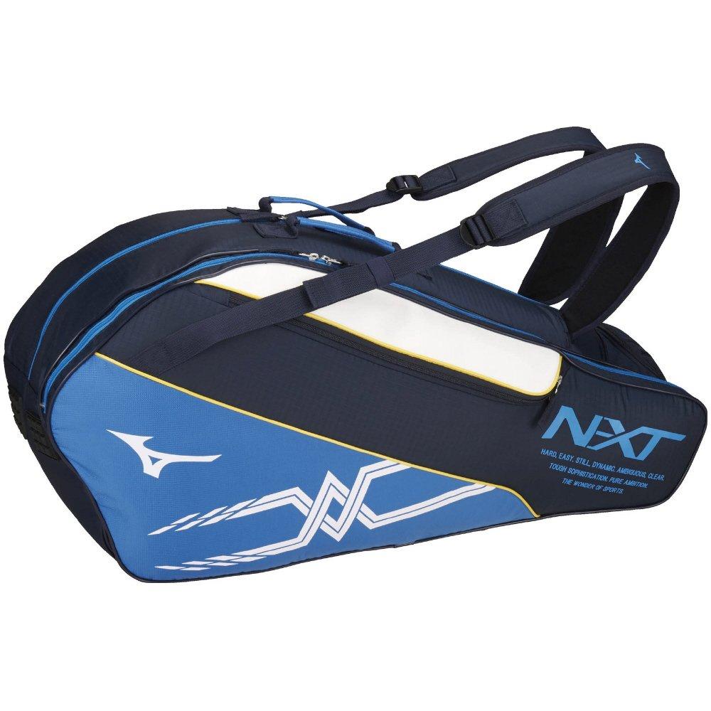 MIZUNO(ミズノ) テニスバッグ ラケットバッグ 6本入れ 63JD8003 B076FLCT64 14:ネイビー 14:ネイビー