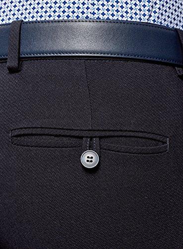 Slim Blu Uomo Classici Ultra Fit Pantaloni 7900o Oodji qYax5Iw1C5