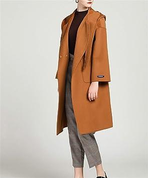 72a872b936fc LUCKY CLOVER-A Manteau Manteau Militaire de Laine d hiver des Femmes des  Femmes