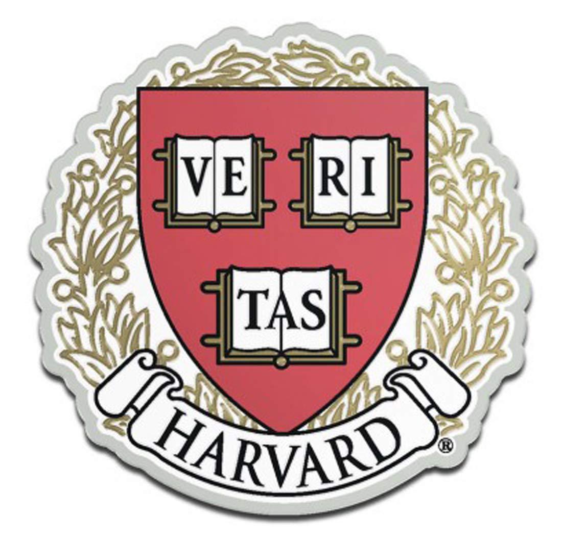 WinCraft Harvard University Crimson Auto Badge Emblem Hard Thick Acrylic