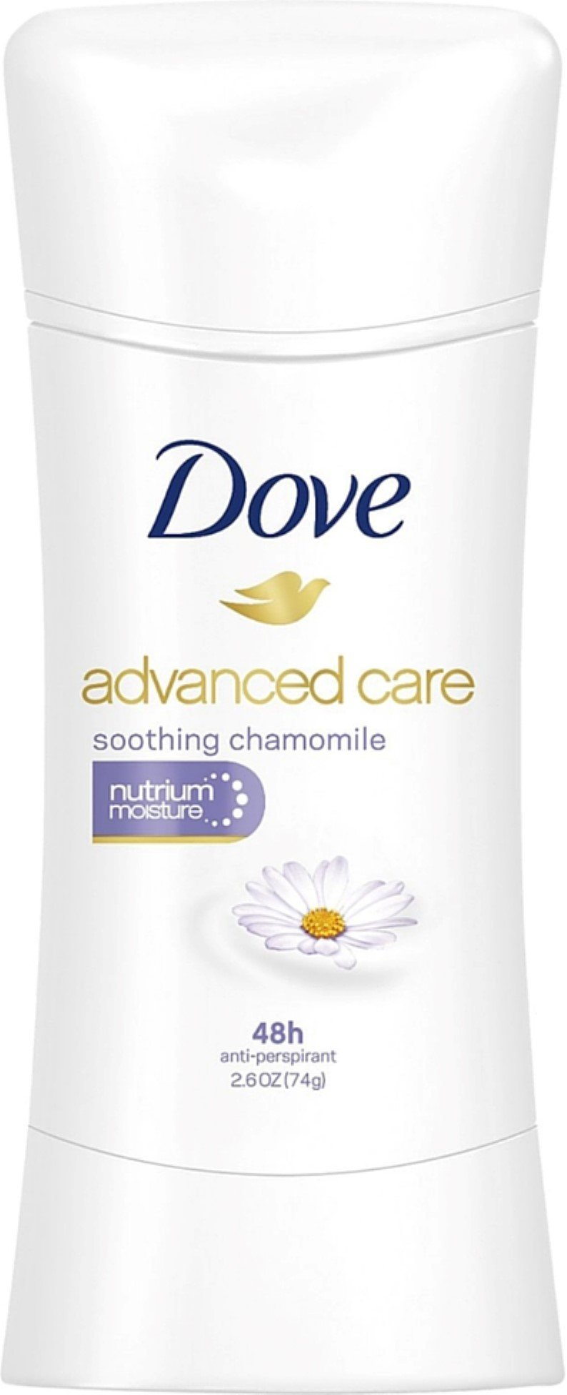 Dove Advanced Care Antiperspirant, Soothing Chamomile 2.60 oz (Pack of 6)