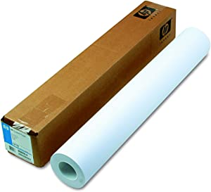 "HP C6019B Designjet Inkjet Large Format Paper, 4.5 mil, 24"" x 150 ft, White"