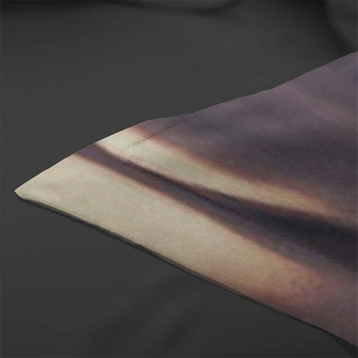 200 cm Set copripiumino teschio doppio copripiumino rosa stampato in 3D viola con chiusura a cerniera 3 pezzi set super biancheria da letto in microfibra con 2 federe set copripiumino doppio 200