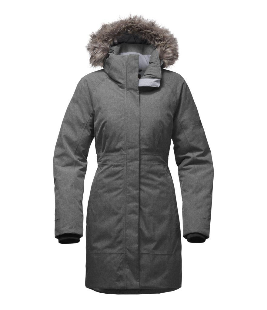The North Face Women's Arctic Parka II - TNF Medium Grey Heather - XL