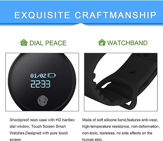 Amazon.com: ZISY - Reloj inteligente digital para hombre ...