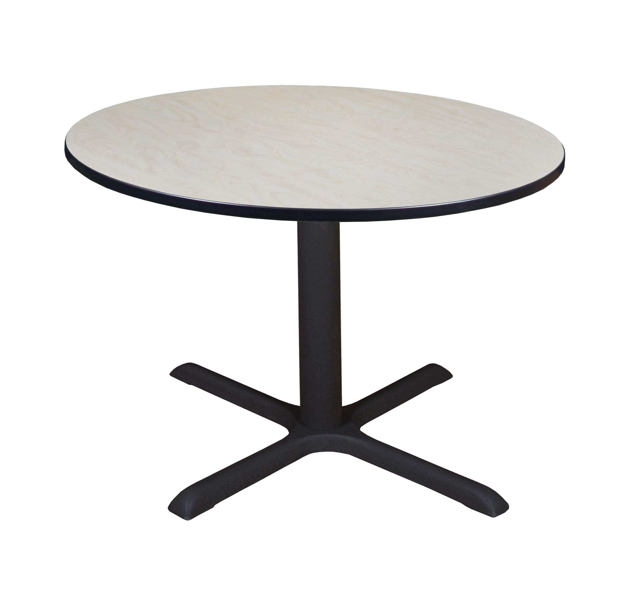 Regency A-TB48RNDLM Cali Round Breakroom Table, 48'', Light Maple by Regency