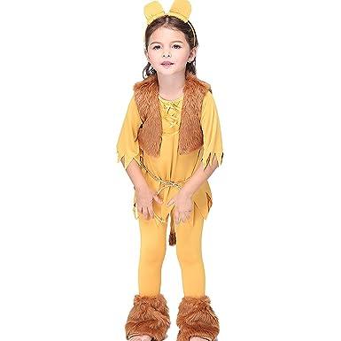 Feicuan Unisex Infantil Halloween Traje - Masquerade león ...