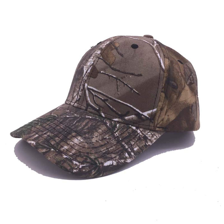 cc9ded25 Amazon.com: SINXE New Outdoor Camouflage Cap Fluorescent Orang Hunting Hat  Blaze Orange Camo Cap with 3D Logo Baseball Hat,AL01: Clothing