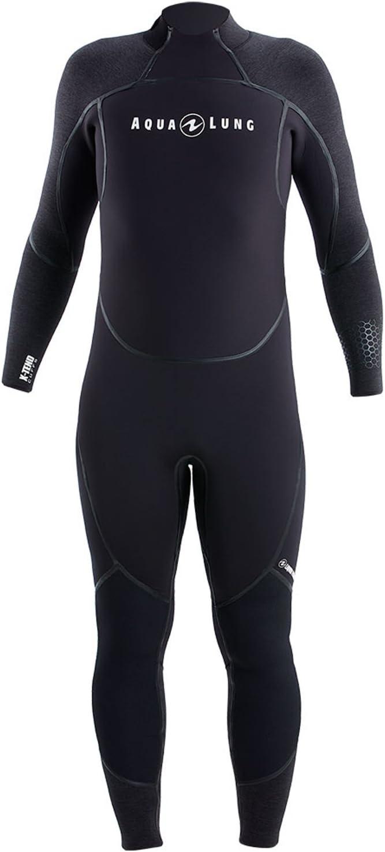 Aqua LungメンズAquaflex 3 mm ブラック/チャーコール Medium-Large-Tall