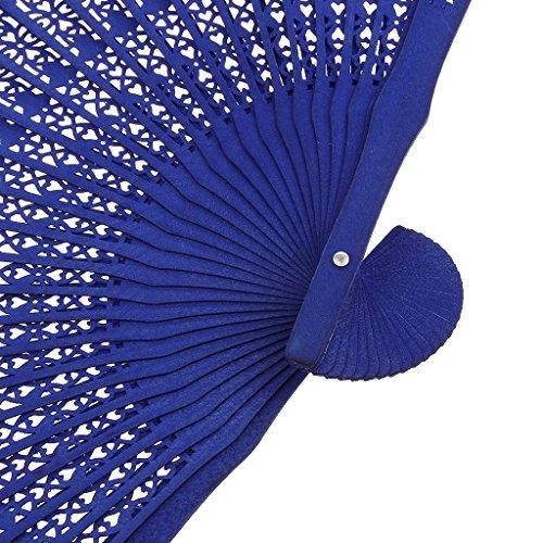 Veroda - Zapatillas de danza de madera para hombre Talla única Azul
