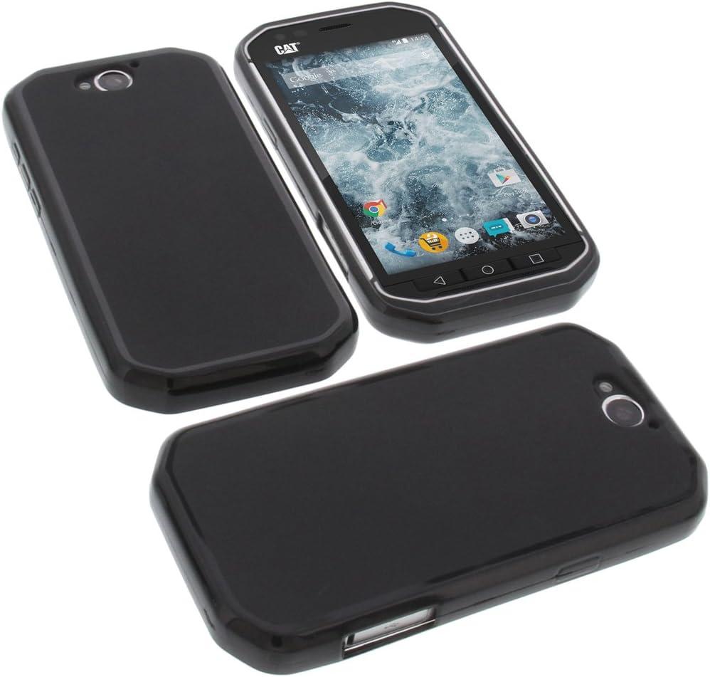 foto-kontor Funda para Cat S40 Protectora de Goma TPU para móvil ...