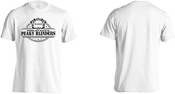 INNOGLEN Peaky Blinders Whiskey Shelby Bros ver19 Camiseta de los Hombres ii924m: Amazon.es: Ropa y accesorios