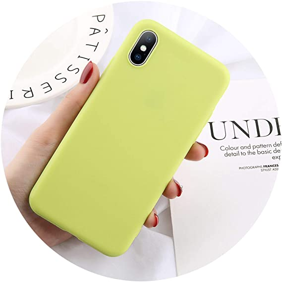 huge discount 25d9f c8647 Amazon.com: Candy Cr Silicone Case for iPhone 6 6S 7 8 Plus X XR XS ...
