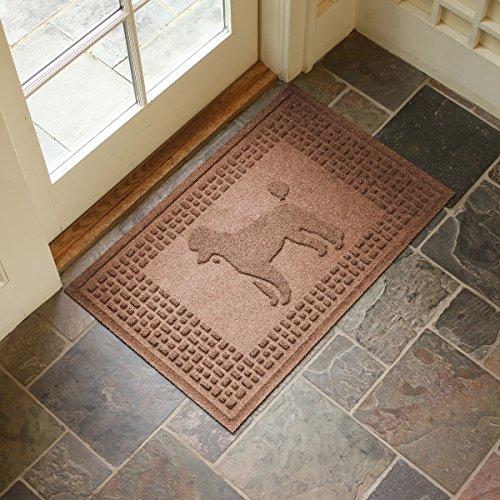 Poodle Door Mat (Aqua Shield Poodle Mat, Medium Brown, 2