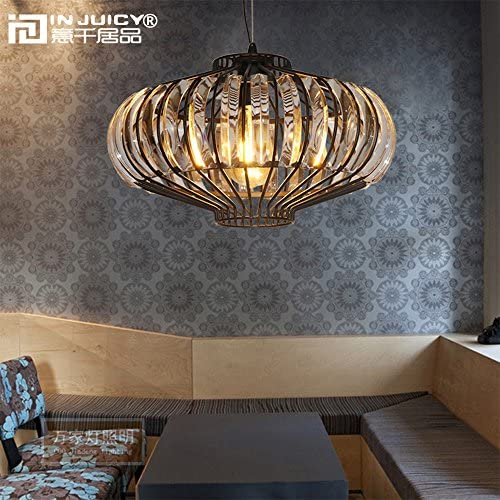 INJUICY Morden Pumpkin Pendant Light