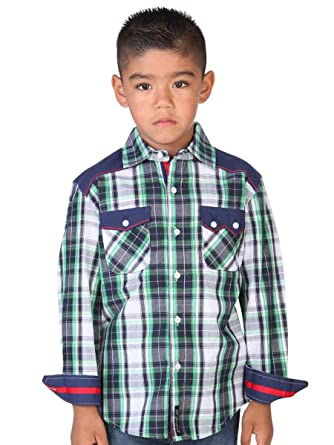 a1119bb32e Camisa Vaquera Casual Shirt de Boys L Sleeve (CCN) El General ID 33168
