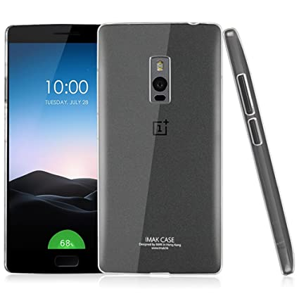 Heartly Imak Crystal Clear Hot Transparent Thin Hard Best Back Case Cover for OnePlus Two 2 Dual Sim
