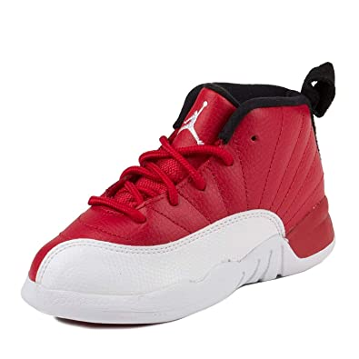 d5cdfdc7bc05e8 Nike Air Jordan 12 Retro BT Red White Black 850000-600 (Size  4C ...