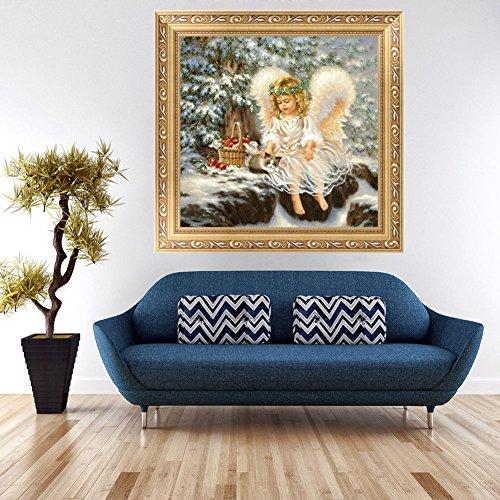 Gracefulvara Little Angel Diamond Embroidery Painting Home Decor Cross Stitch DIY Craft