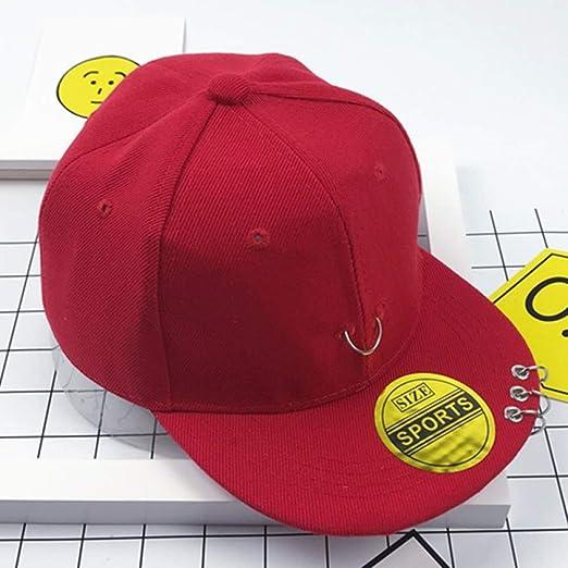 mlpnko Gorra para niños Hip Hop Street Dance Hat Pequeña Corona ...